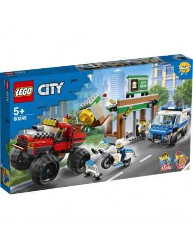 Policía: Atraco del monster truck Lego