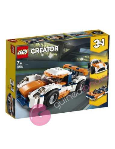 Deportivo de competición sunset Lego