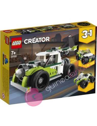 Camión a reacción Lego