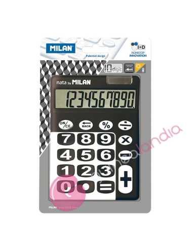Blister Calculadora 10 dig. Milan