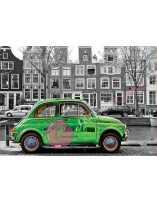 Coche en Amsterdam Puzzle...