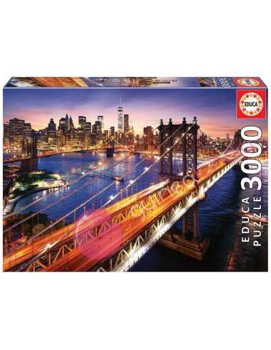 Manhattan al atardecer Puzzle 3000...