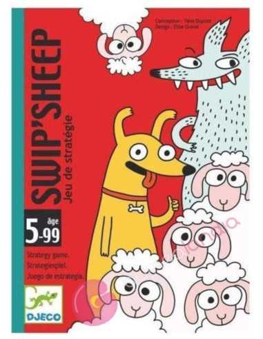 Swip Sheep Juego de cartas Djeco