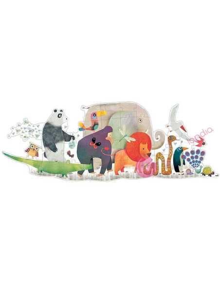 Puzzle Gigante Desfile de los animales