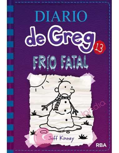 Diario de Greg 13: Frio fatal