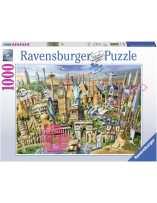 Hitos del mundo Puzzle 1000...