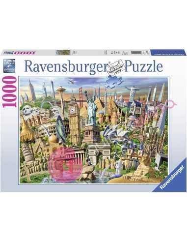 Hitos del mundo Puzzle 1000 piezas