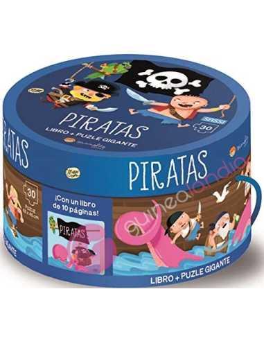 Libro puzzle. Piratas