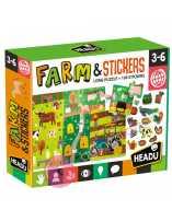 Farm & Stickers Headu