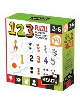1 2 3 puzzle - Headu