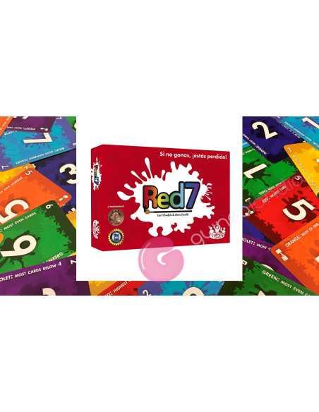 Red7 Juego de Cartas