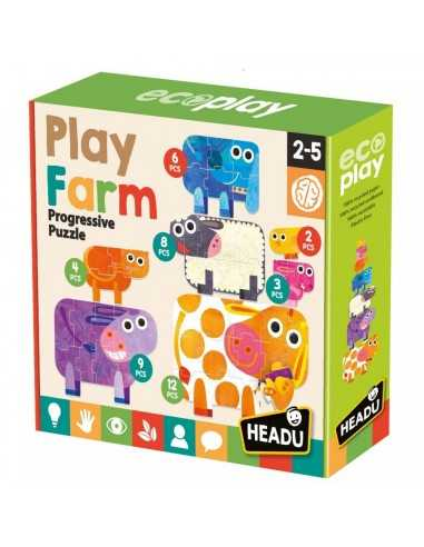 Play Farm Puzzle progresivo - Headu