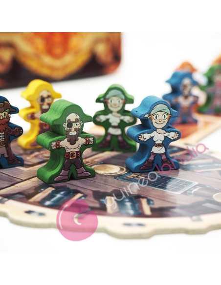 Piratas Al Agua juego de mesa