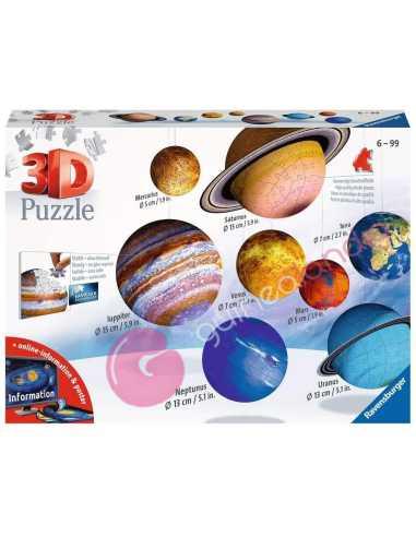 Puzzle 3D El Sistema Planetario 3D...