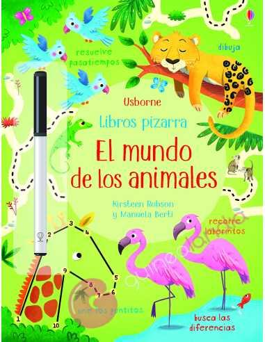 Libros pizarra: El mundo de los animales