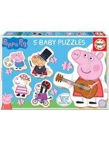 5 Baby puzzles Peppa Pig