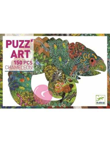 Puzzle Art Chameleon 150 pzs Djeco