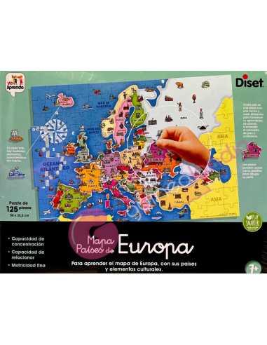 Mapa Países de Europa