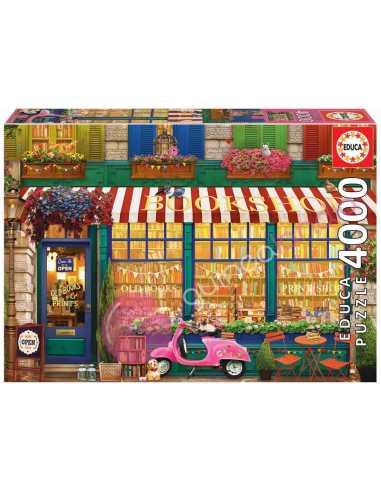 Librería Vintage Puzzle 4000 piezas -...