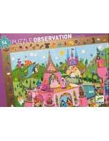 Puzzle Observación Princesas