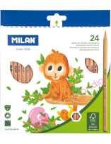 Caja 24 Lápices de Colores - Milan