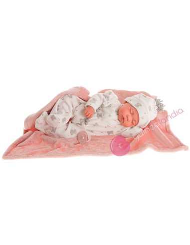 Sweet Reborn Luna Pijama Elefantes – Antonio Juan