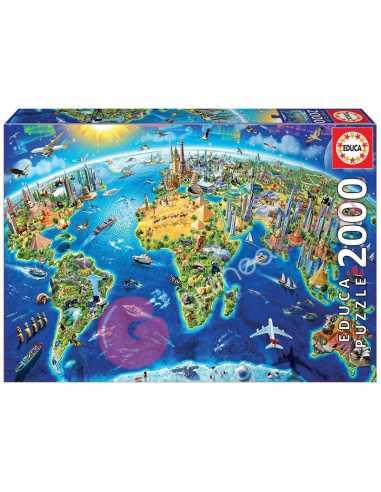 Símbolos Del Mundo Puzzle 2000 piezas...