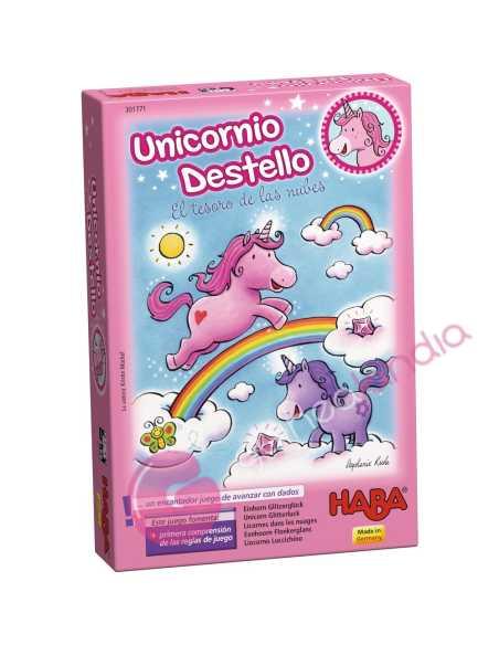 Unicornio Destello El tesoro de las nubes - Haba