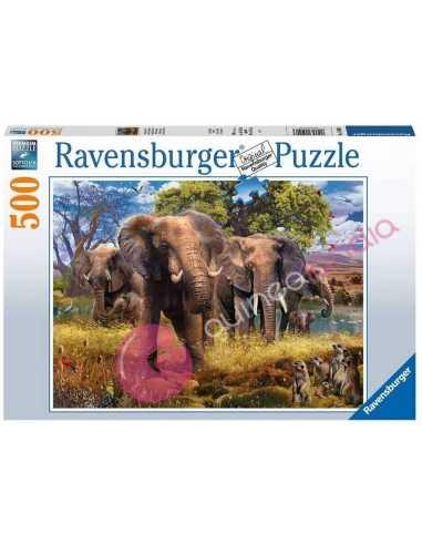 familia-de-elefantes-puzzle-500-piezas