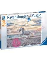 Puzzle Caballo en la playa 500 piezas
