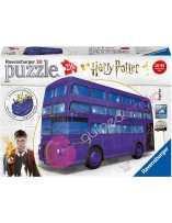 Puzzle 3D Autobús noctámbulo Harry Potter