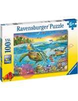 Puzzle Tortugas Marinas 100 piezas