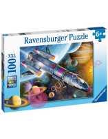 Puzzle Misión en el espacio 100 piezas