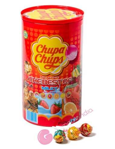 Chupa Chups Frutas Tubo 100 und
