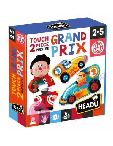 Touch 2 pieces Puzzles Grand Prix