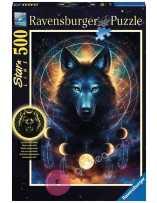Lobo Brillante 500 piezas