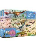 Dinosaurios - Línea Del Tiempo Puzzle 300 Piezas