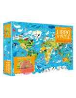 Libro puzzle Animales del mundo 200 piezas