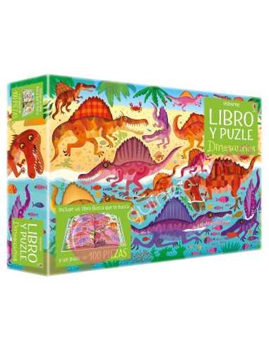Libro puzzle Dinosaurios 100 piezas