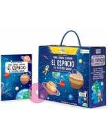 Libro puzzle El espacio, el sistema solar: viaja, conoce y explora 205 piezas