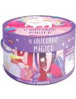 Libro puzzle El unicornio mágico 30 piezas