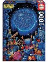 El Astrólogo Neon Puzzle 1000 Piezas