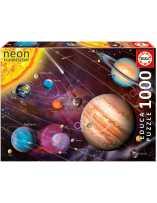Sistema solar Neon Puzzle 1000 Piezas