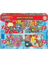 Superthings 4 Puzzles 50-80-100-150 Piezas